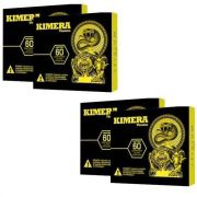 Kit 4 Kimera Thermo - 60 Comprimidos - Iridium Labs