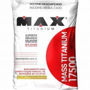 MASS TITANIUM - 3 KG - MAX TITANIUM - BAUNILHA