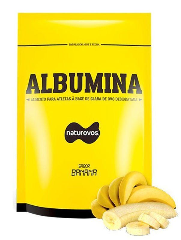 Albumina - 500g Banana - Naturovos