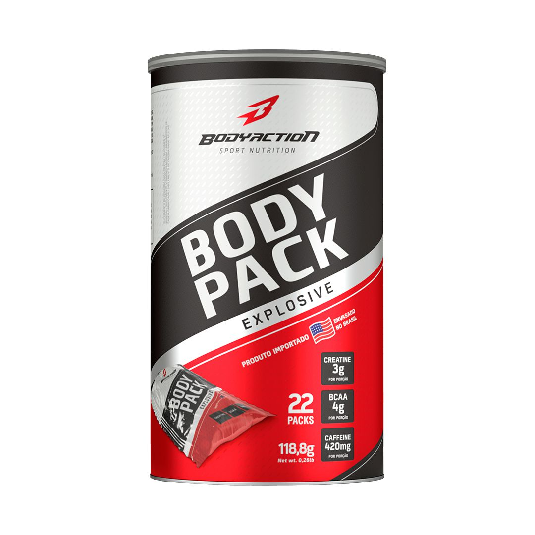 BODY PACK EXPLOSIVE - 22 PACKS - BODY ACTION