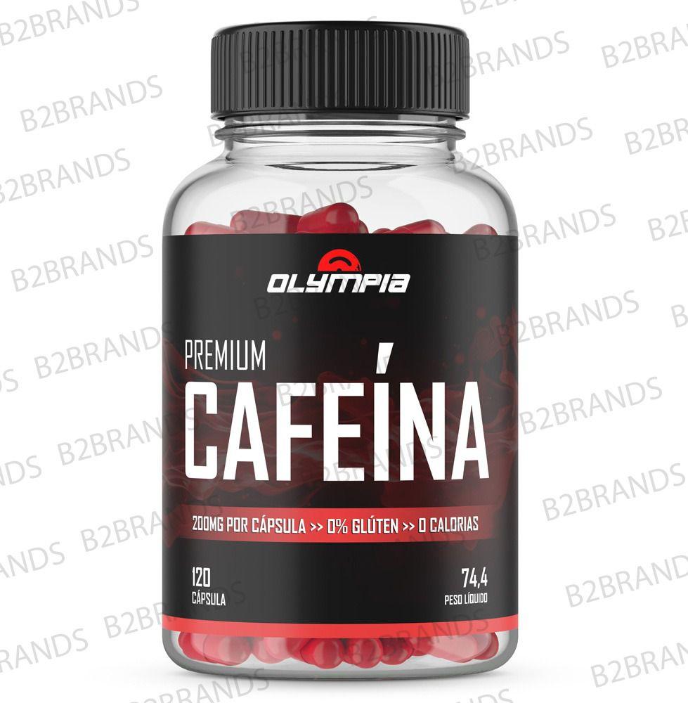 CAFEÍNA OLYMPIA - 120 CAPS com vitaminas B6 e B12