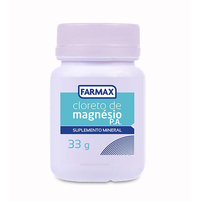 CLORETO DE MAGNESIO - 60 COMP - FARMAX