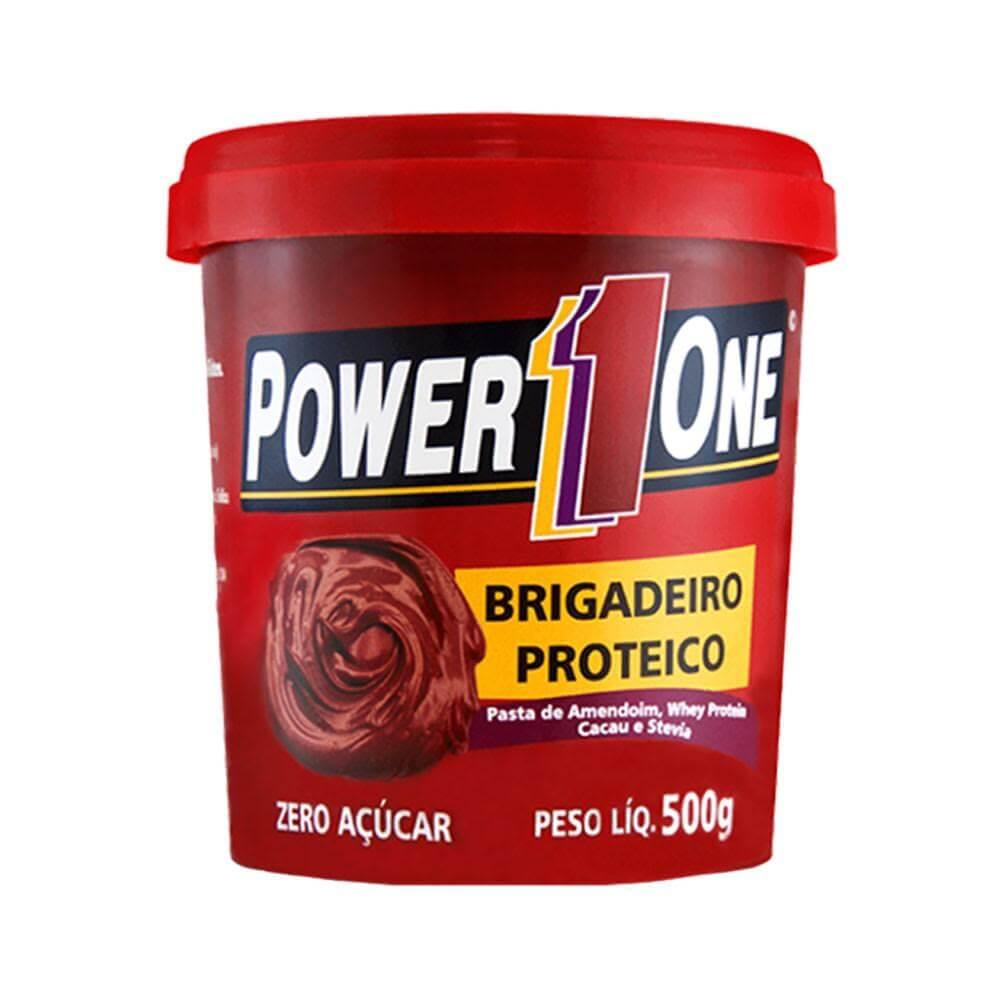 Combo Pasta De Amendoim Brigadeiro Proteico - Power 1 One