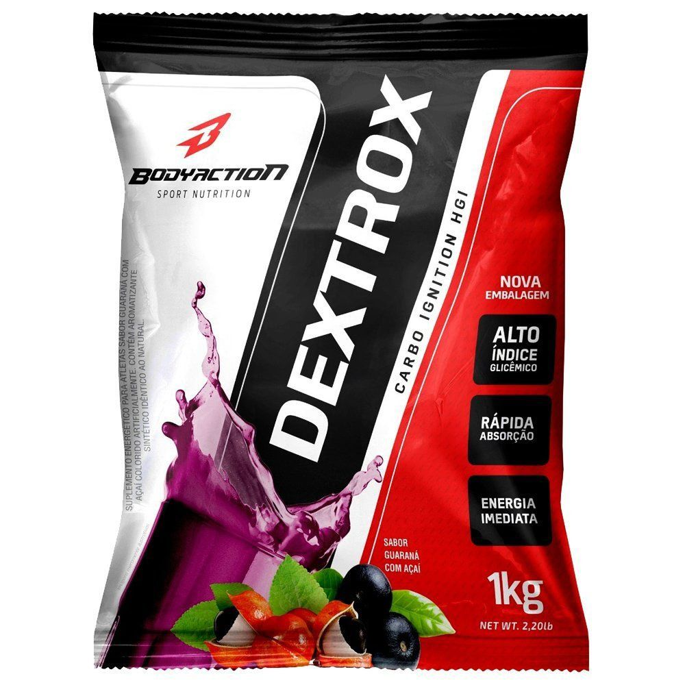 DEXTROSE - 1KG - BODY ACTION