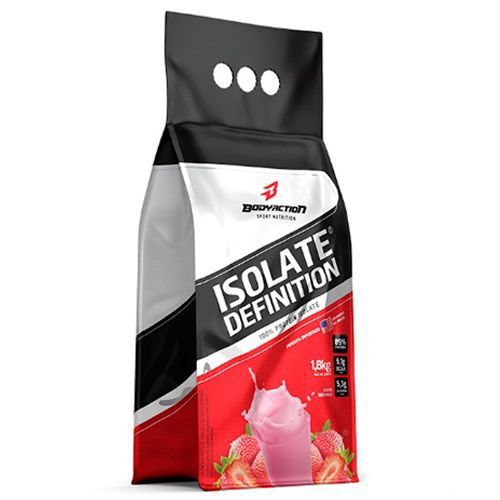 Isolate Definition 1,8kg - Morango - Bodyaction