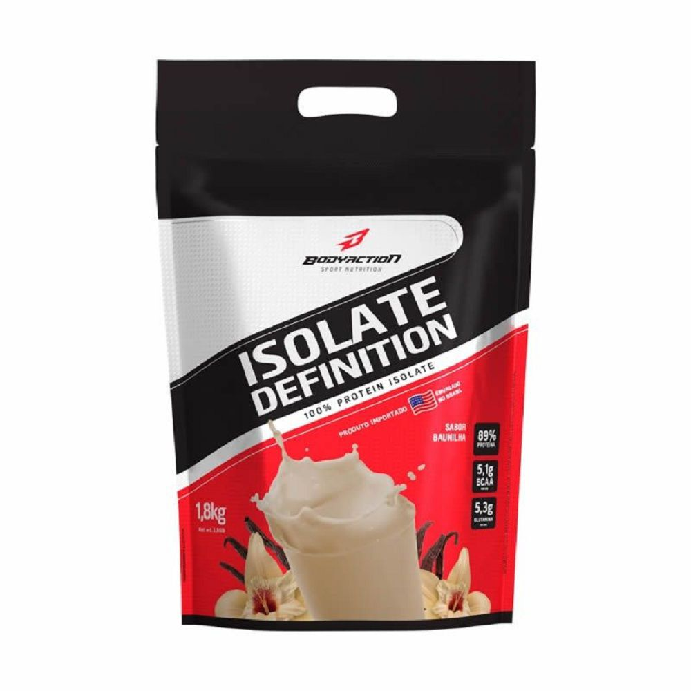 Isolate Definition Refil 1,8kg - Baunilha - Bodyaction
