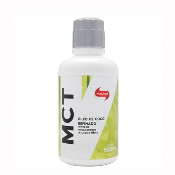 Mct Óleo de Coco Refinado (500ml) - Vitafor