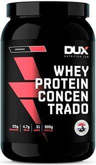 Whey Concentrado Dux 900gr - Sabor Morango
