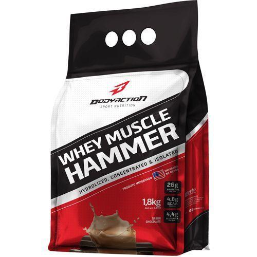 Whey Hammer (REFIL) 1,8 KG BODY ACTION Chocolate