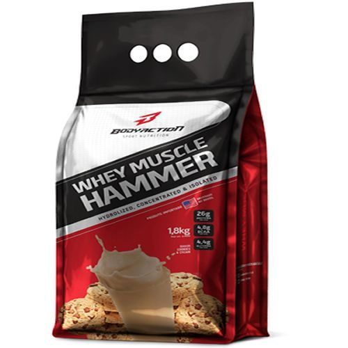 Whey Hammer (REFIL) 1,8 KG BODY ACTION Cookies e Cream