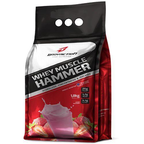 Whey Hammer (REFIL) 1,8 KG BODY ACTION - Morango