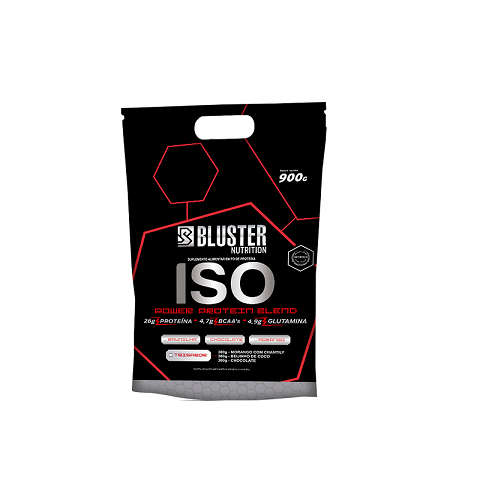 Iso Bluster Chocolate 900G