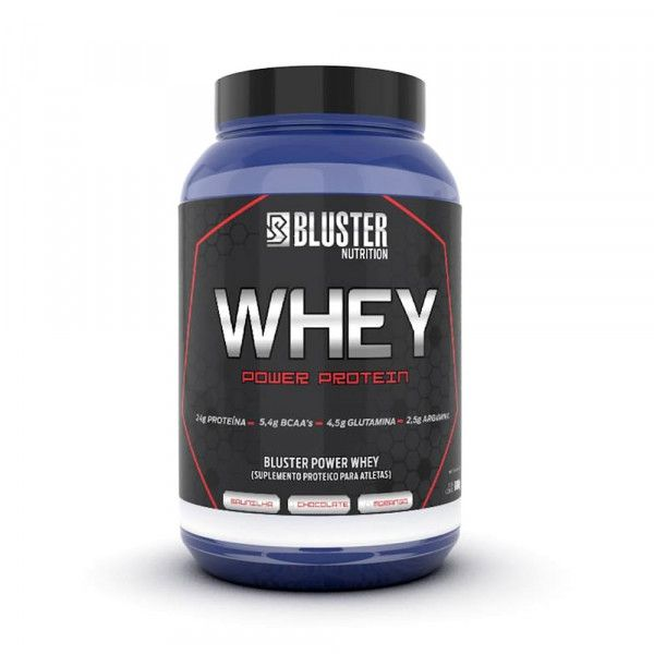 WHEY POWER PROTEIN 900g (morango) - ABSOLUT NUTRITION