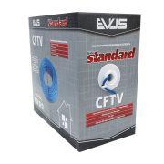Cabo de Sinal CFTV Evus Standard 4 pares 24 AWG 305m Azul