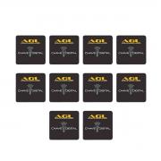 Chave Digital Mini Card AGL RFID 125 kHz 10 Unidades