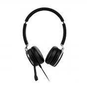 Headset USB Intelbras WHS 80 Inibe Ruído do Ambiente Busylight