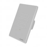 Interruptor De Luz Inteligente Touch WIFI AGL 3 Teclas - Cinza