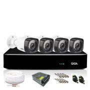 Kit 4 Câmeras de Segurança DVR 4 Canais Giga Orion