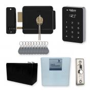 Kit Controle de Acesso Intelbras Com Fechadura Elétrica e Tags