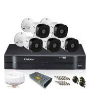 Kit Câmera Intelbras com 5 Câmeras de Segurança 1080p
