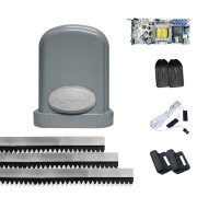 Kit Motor de Portão Deslizante PPA Eurus Steel 1/2 HP