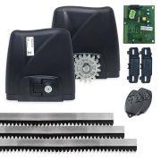 Kit Motor de Portão Eletrônico Rossi DZ Atto 1/4 HP