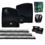 Kit Motor de Portão Eletrônico de Correr RCG Slider PL Maxi 1/4 Hp