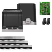 Kit Motor de Portão Eletrônico Deslizante Intelbras DC 800 AL 1/2 Hp
