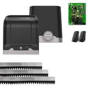 Kit Motor de Portão Eletrônico Deslizante Intelbras DC 800 Fast 1/2 Hp