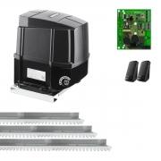 Kit Motor de Portão Eletrônico Industrial Intelbras DI 1600 1/2 Hp