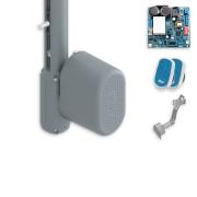 Kit Portão Eletrônico Basculante Peccinin Bravo I-HSC 1/2 HP 1,75 Metros
