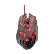 Mouse Gamer Fortrek Spider 2 OM-705 Preto/Vermelho USB 3200DPI