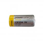 Bateria de Lithium Power One CR123A 3V
