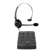 Telefone Headset Intelbras HSB 50 Inibe Ruído do Ambiente