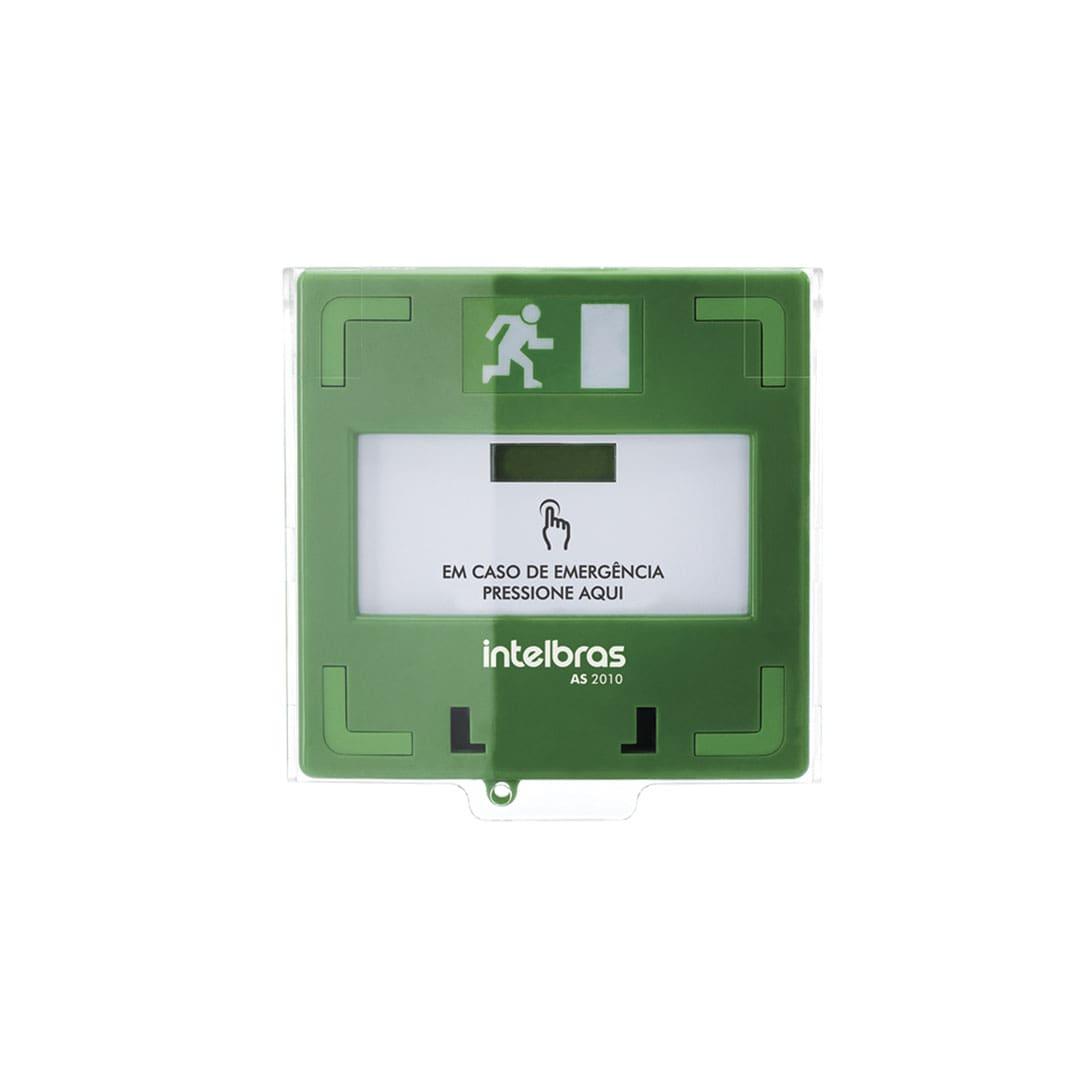 Acionador de Emergência Rearmável Intelbras AS 2010
