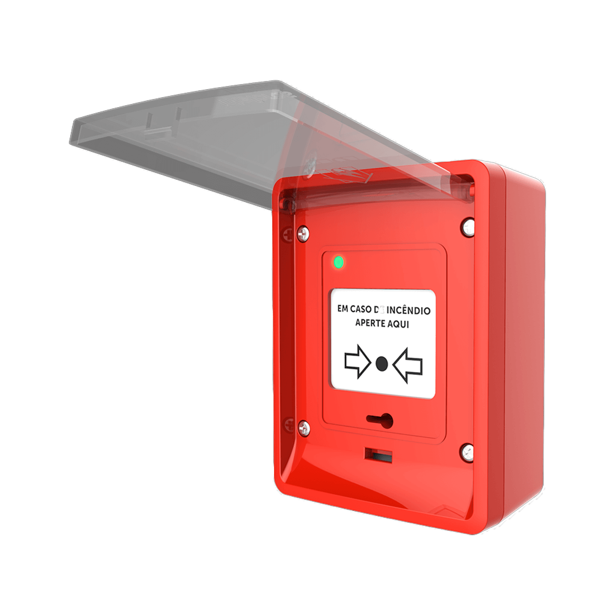Acionador Manual Convencional Intelbras AMC 466