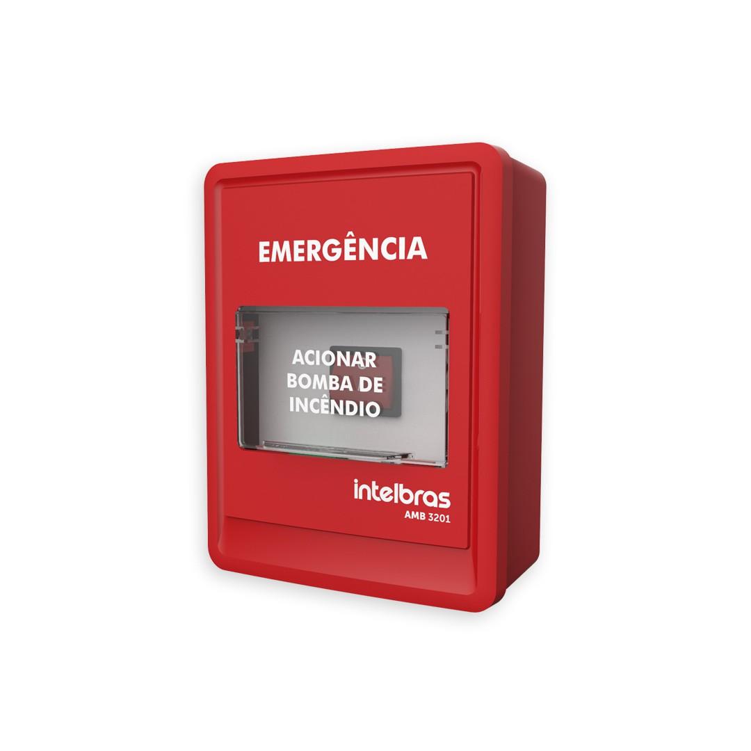 Acionador Manual de Bomba dÁgua Intelbras AMB 3201
