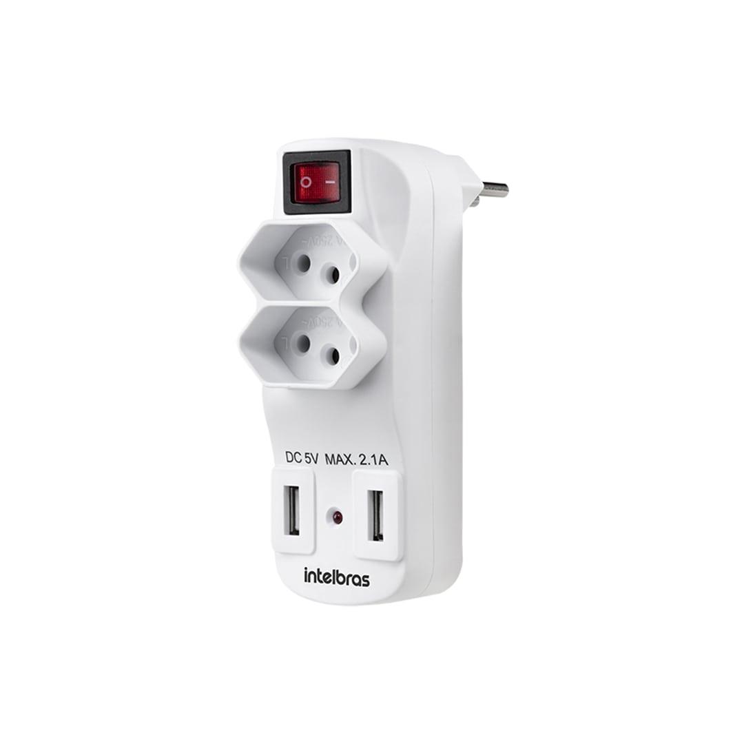 Adaptador de Carregador USB Intelbras EAC 1002