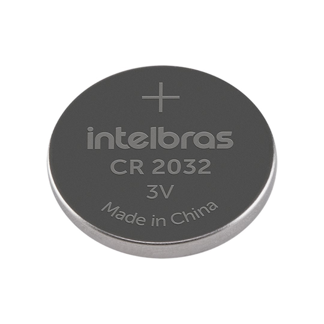 Bateria Intelbras CR 2032 de Lithium 3v