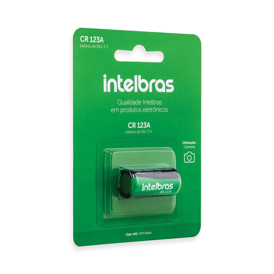 Bateria de Lítio Intelbras 3V CR 123A