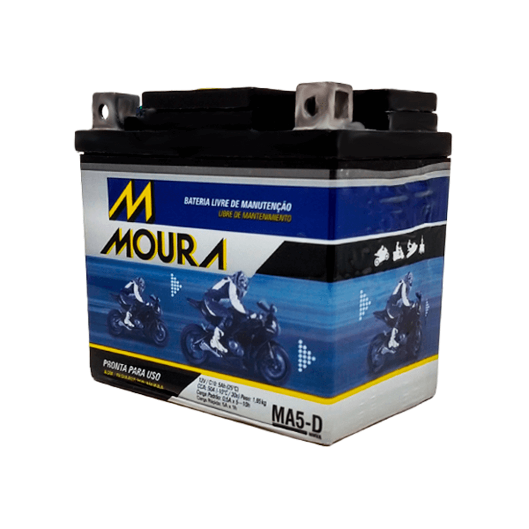 Bateria para Moto Moura MA5-D MMV   Netalarmes