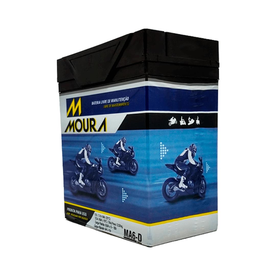 Bateria para Moto Moura MA6-D MMV   Netalarmes