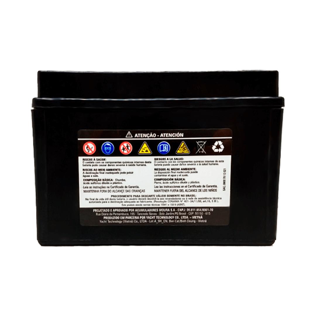 Bateria para Moto Moura MA8-EI | Netalarmes