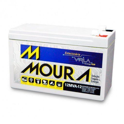 Bateria Moura Selada Estacionária 12V 12A VRLA
