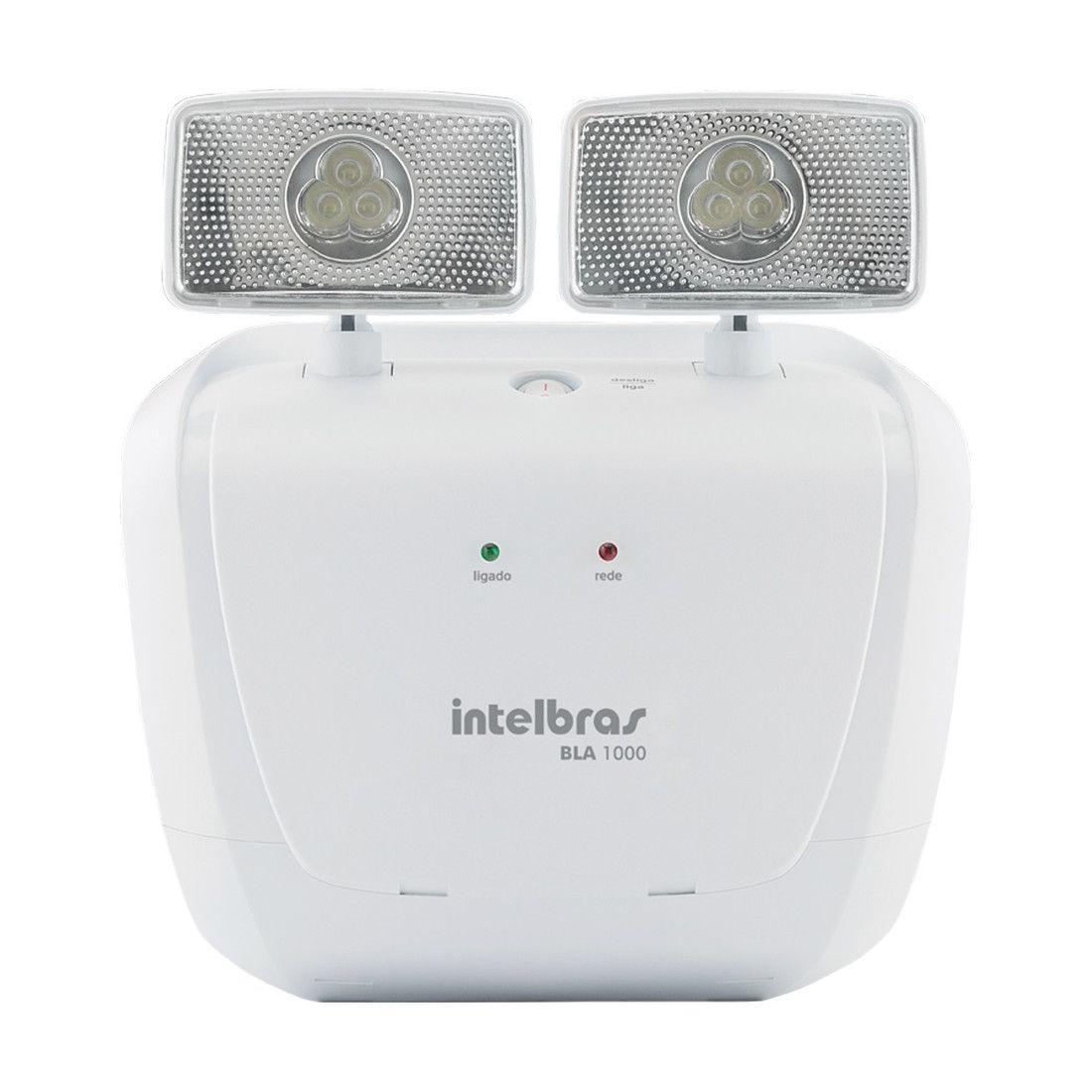 Bloco de Iluminação de Emergência Intelbras BLA 1000 Lúmens