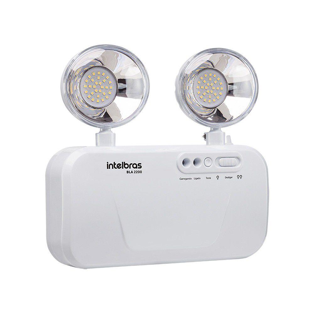 Bloco de Iluminação de Emergência Intelbras BLA 2200 Lúmens