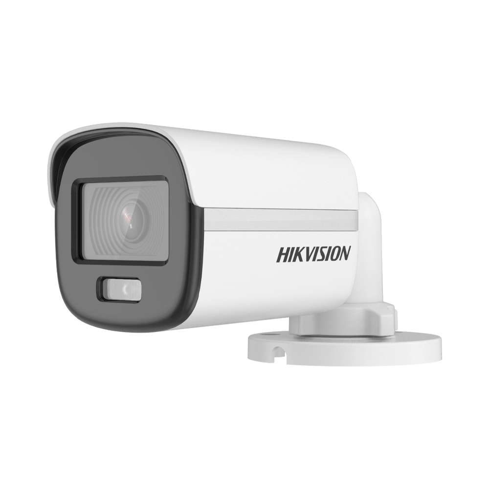 Câmera de Segurança Hikvision Bullet ColorVu 2 MP DS-2CE10DF0T-PF