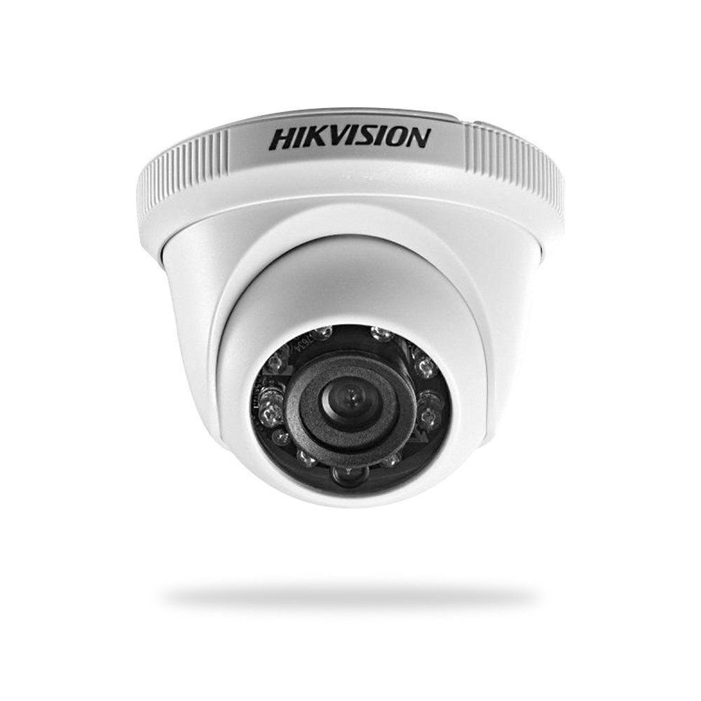 Câmera Hikvision Dome Turbo Hd 3.0 Infra Red 2.8mm DS-2CE56C0T-IRPF
