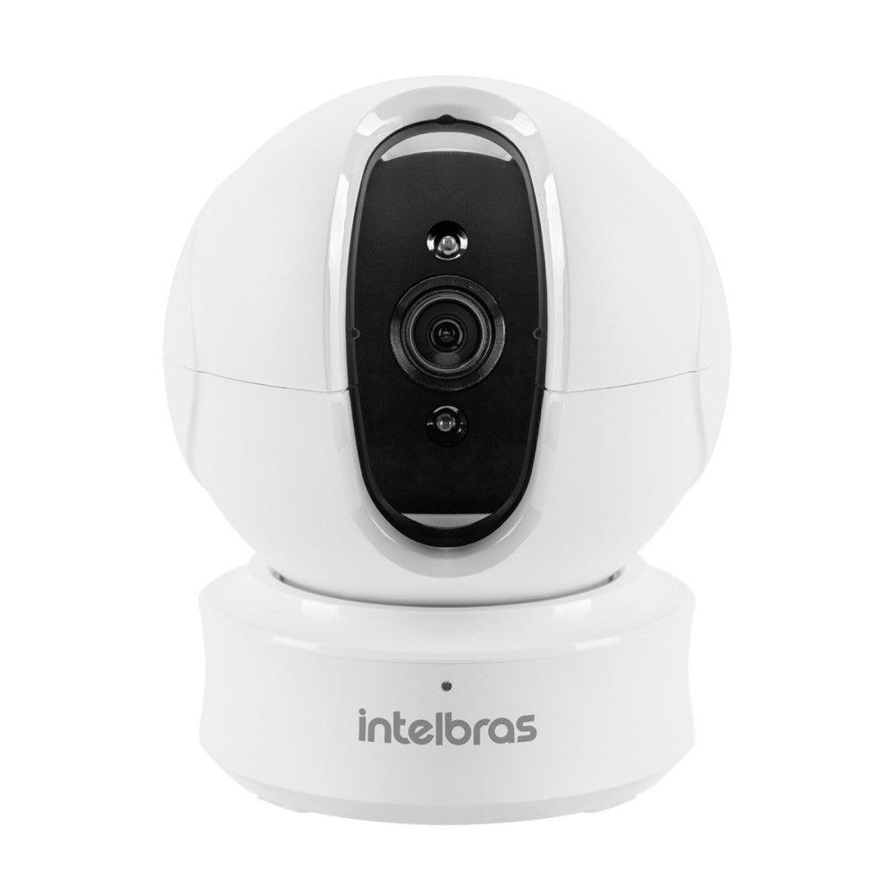 Câmera Wi-Fi Intelbras Mibo iC4 HD 720p Pan Tilt 360° 10 Mts