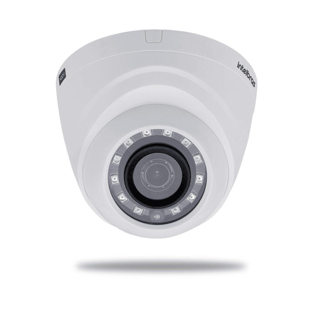 Câmera Intelbras VHD 1010 D G3 Dome Multi HD 720p  IR 10 mts